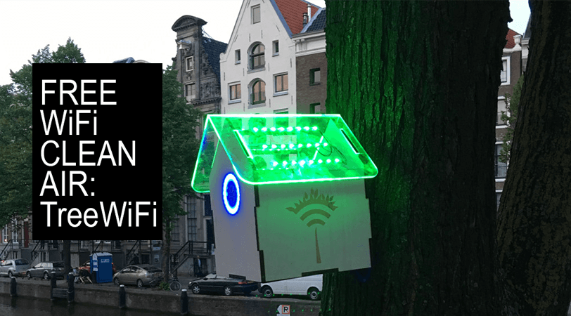 TreeWiFi: Free Wifi Clean Air